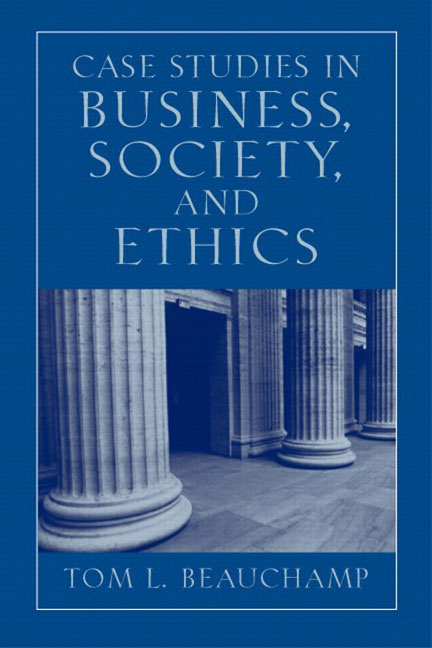 business law and ethics case study Society of professional journalists we've been collecting a number of case studies for use in workshops the ethics and how much should it cooperate with law.