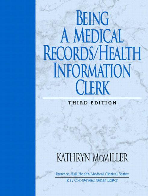 health information clerk