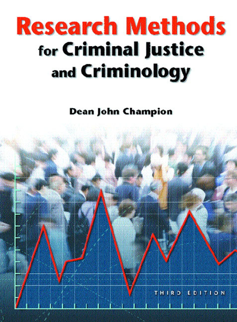 statisticcal methods in criminal justice Degree type – bachelor of science in criminal justice (bscj)  fundamentals of  research methods and statistical techniques used in criminal justice research.