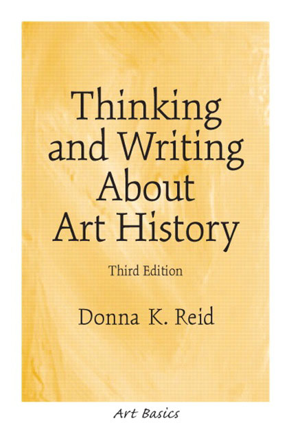 art history writing Art history research & writing primary sources search this guide search art history research & writing: art and history of art, citing, writing and publishing.