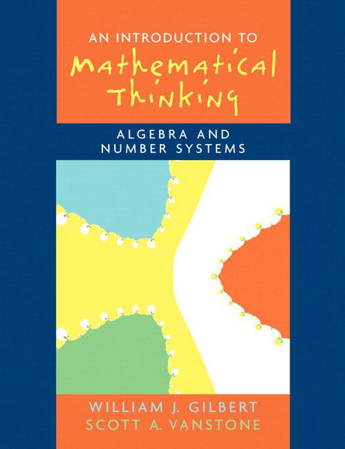 Pearson Education - Introduction to Mathematical Thinking