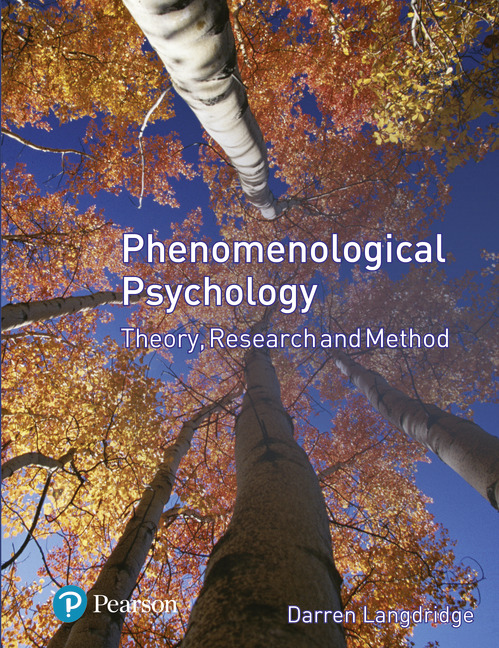 phenomenological psychology theory research and method pdf