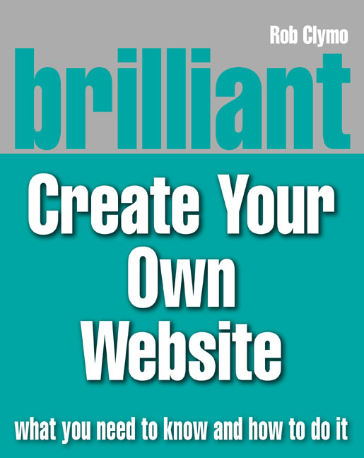 Pearson Education Brilliant Create Your Own Website