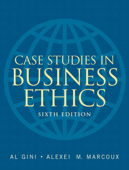 Business Ethics Essays Free