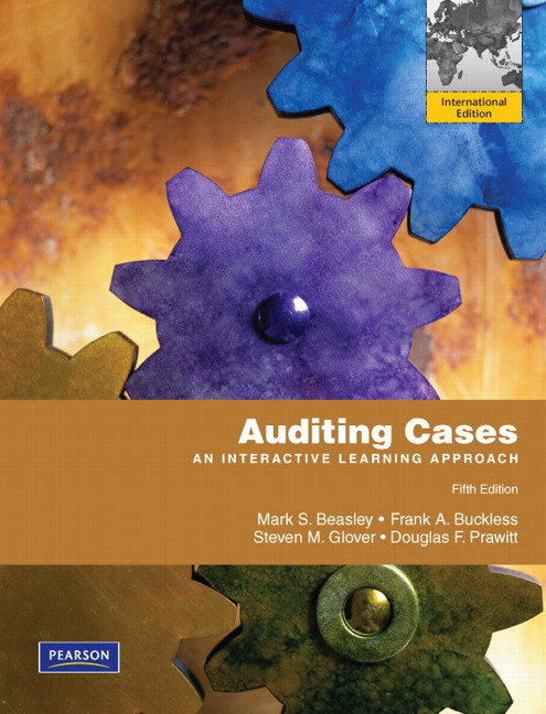 auditing cases an interactive learning approach pdf
