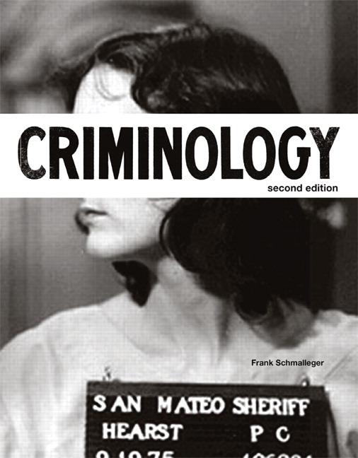 Criminology text book Foto