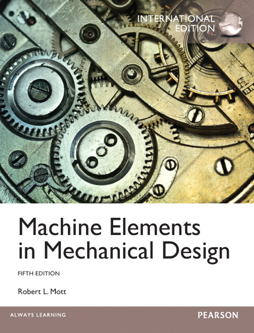 machine elements in mechanical design 5th edition