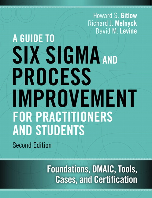 Pearson Education Guide To Six Sigma And Process Improvement For