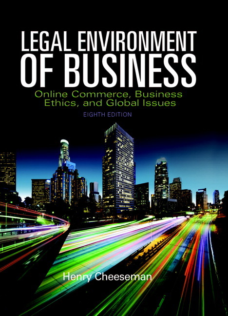 legal and social environment of business