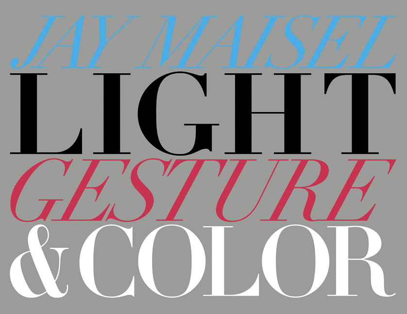 Light, Gesture, and Color -