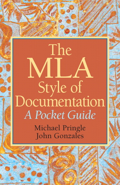 the modern language association mla a guideline for documentation style