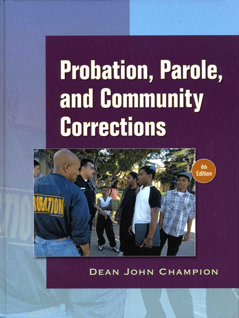 community corrections In prisons and jails and those released into the community on probation and   and technological trends that could affect corrections going forward—trends   formerly with the american probation and parole association 3.