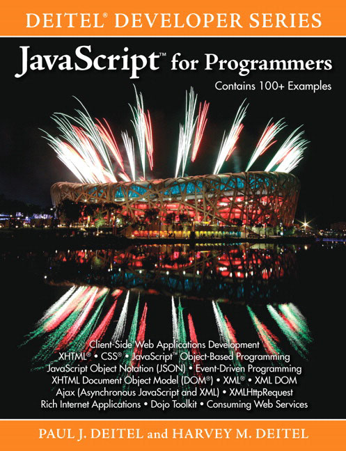 Pearson Education - JavaScript for Programmers