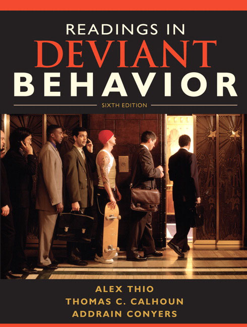 a description of deviant behavior by pfuhl Akers, ronald l 1973 deviant behavior: a social learning approach  pfuhl, edwin h, jr 1987  the prevalence and social learning predictors of computer .