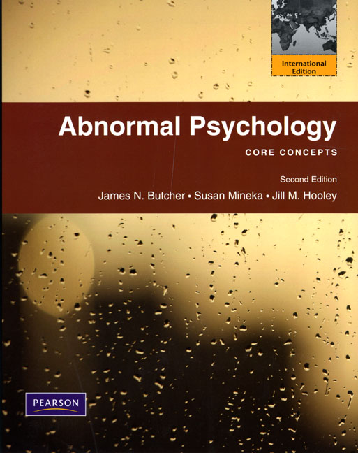 a course on abnormal psychology Abnormal psychology reflection the course of abnormal psychology is a branch that deals with the description, causes, and treatment of abnormal behavior patterns.