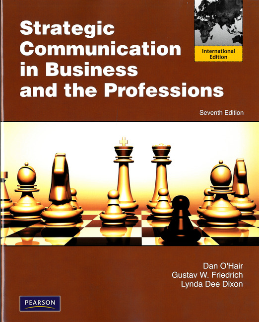 strategic communication in business and the professions 7th edition pdf