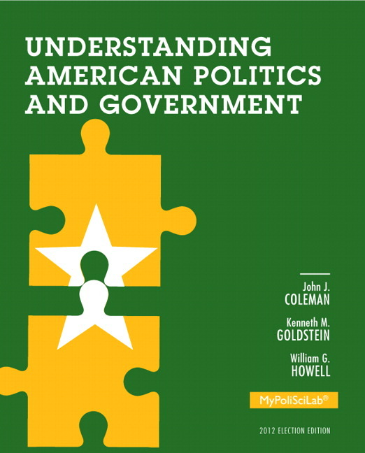 Politics Government: Understanding American Politics And