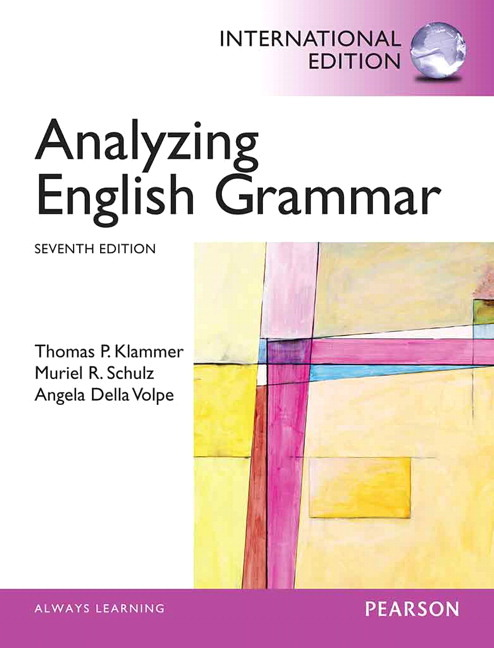 Analyzing English Grammar, 7th Edition
