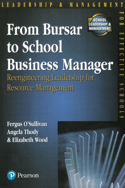 Pearson Education From Bursar To School Business Manager