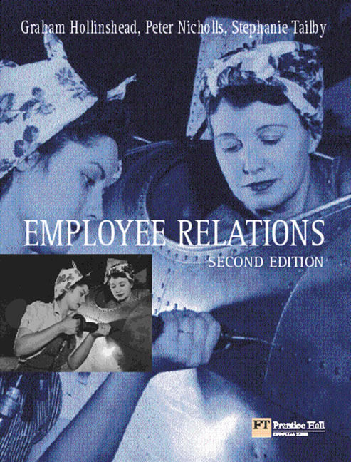 Pearson Education - Employee Relations