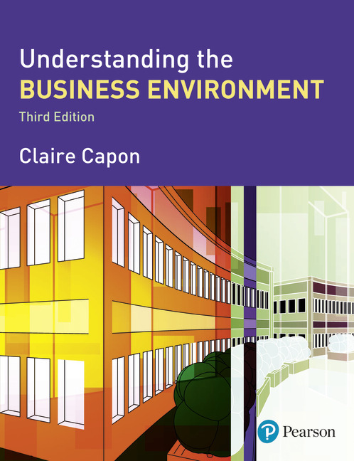 understanding the business environment View homework help - understanding the business environment 3rd edition from acc 421 at francis marion university ingraham/jenkins cast: understanding the business environment solution instructional.
