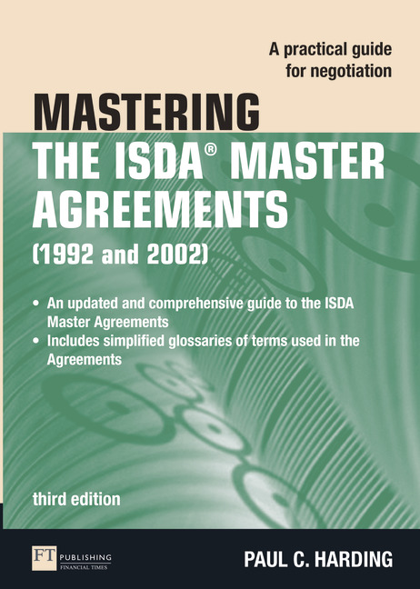 Pearson Education Mastering The Isda Master Agreements