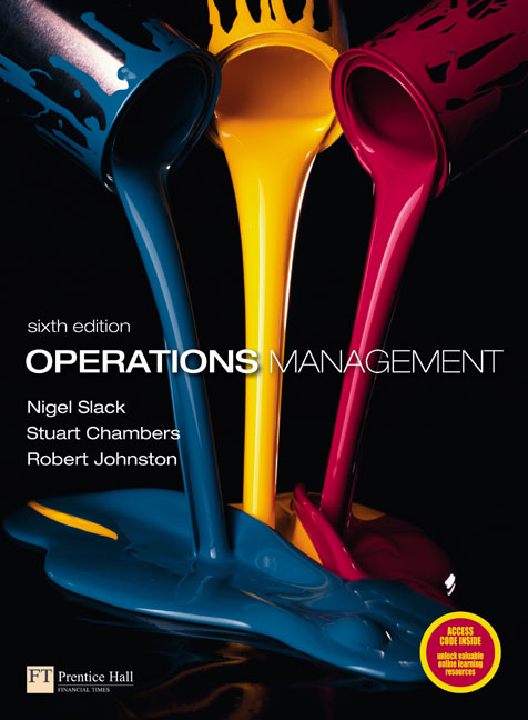 Studyguide for Operations Management