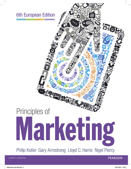 Principles of Marketing Pearson Principles of Marketing Plus