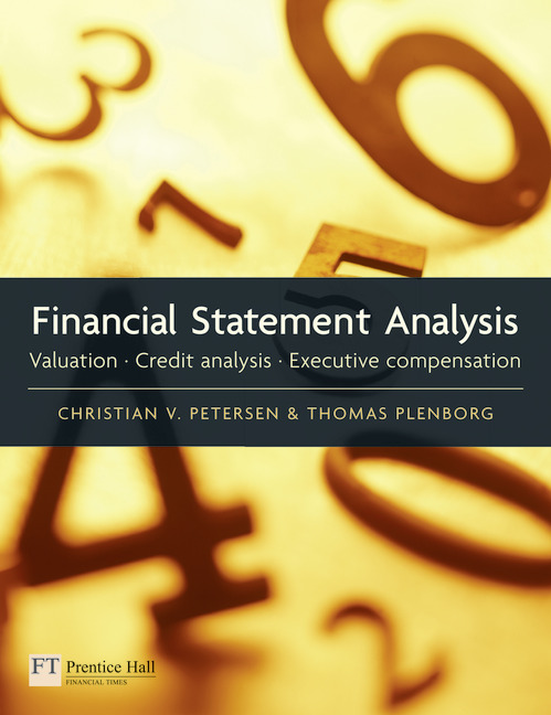 Pearson Education - Financial Statement Analysis