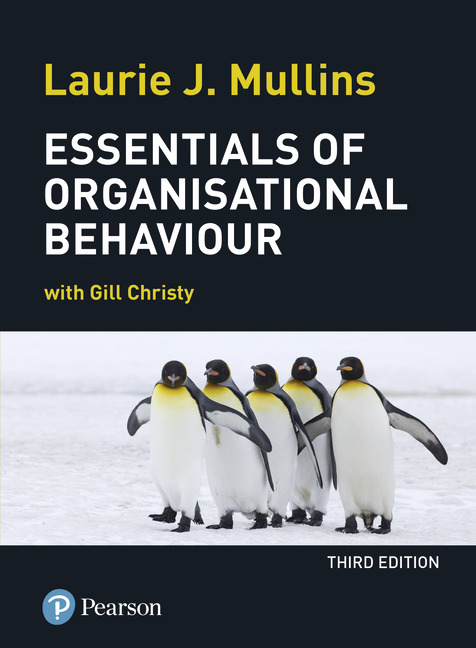 organisation structure laurie j mullins Essentials of organisational behaviour mullins, laurie j taking a managerial  approach and demonstrating the application of behavioural science within the.