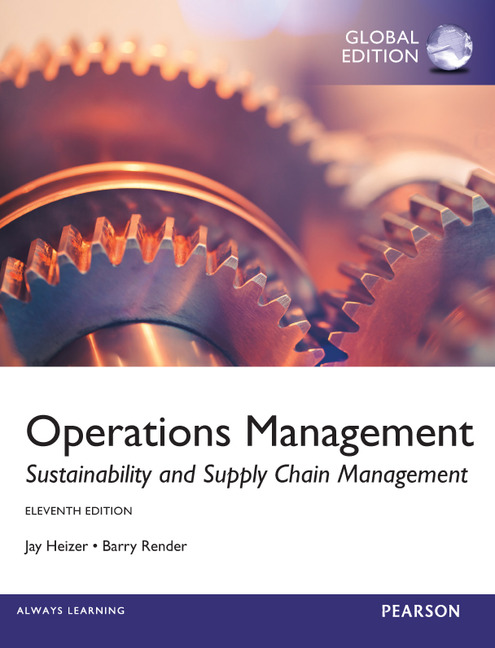 Operations Management (10th Edition) by Heizer, Jay; Render, Barry Pearson