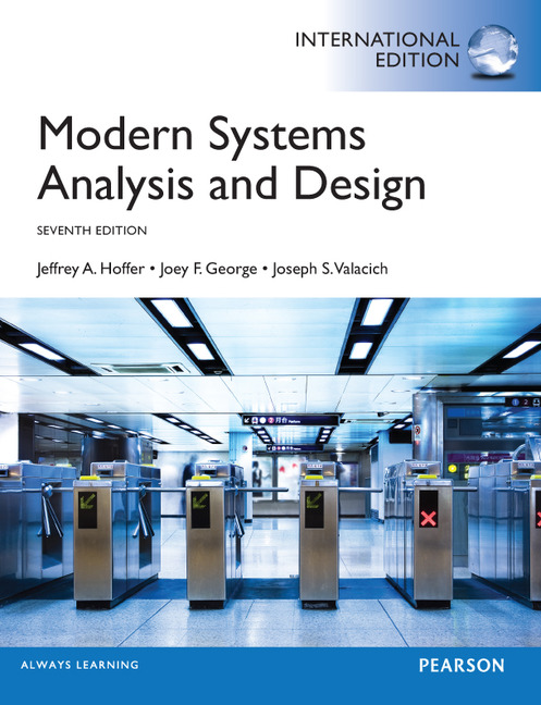 Modern System Analysis And Design Pdf