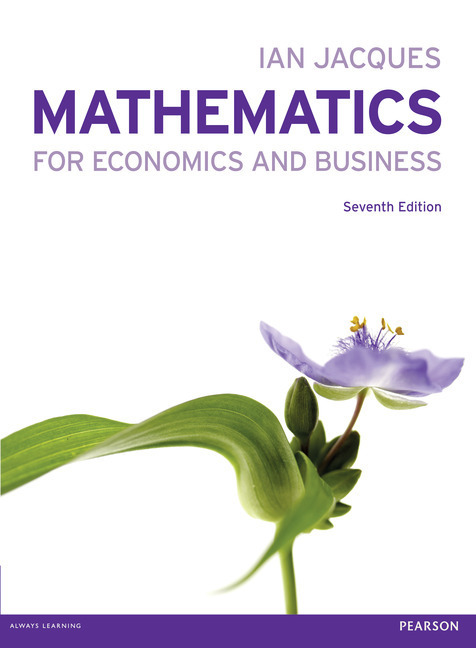 mathematics for economics and business pearson pdf