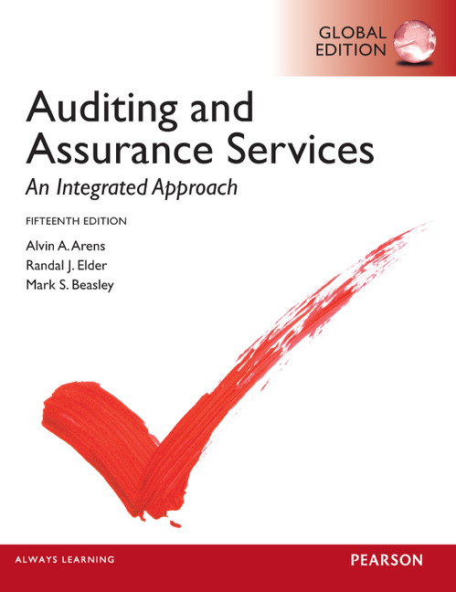 auditing and assurance services Essentials of auditing and assurance services: an integrated approach by alvin a arens, randal j elder, mark s beasley, al arens, randal j elders and a great.