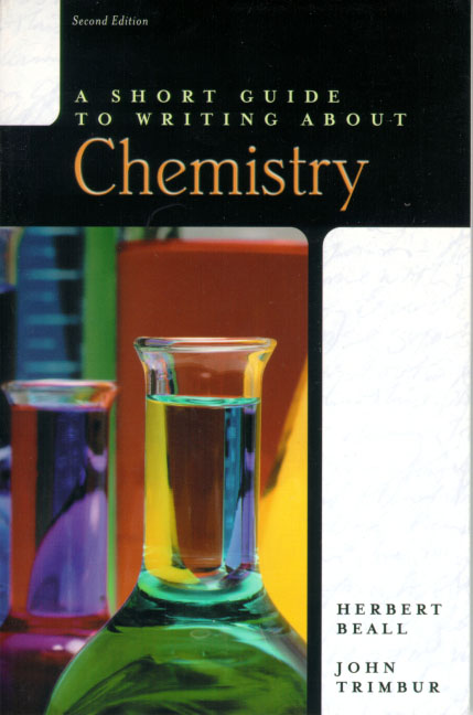 how to write research paper in chemistry