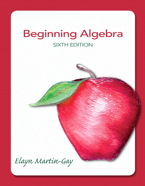 from Leroy beginning and intermediate algebra by martin gay