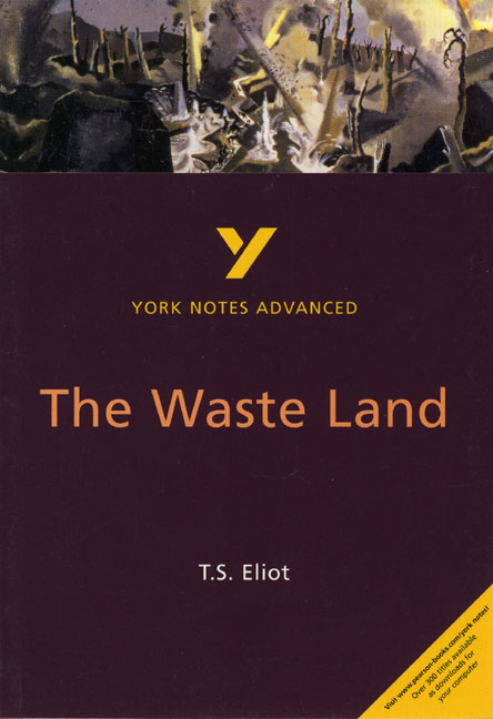an analysis of the waste land a poem by t s eliot Faith and belief, or the lack of it, has always played a major part in ts eliot's canon perhaps more than any other modernist writer.