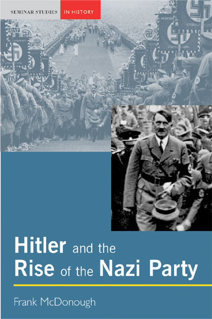 The rise of hitler and the nazi party essay