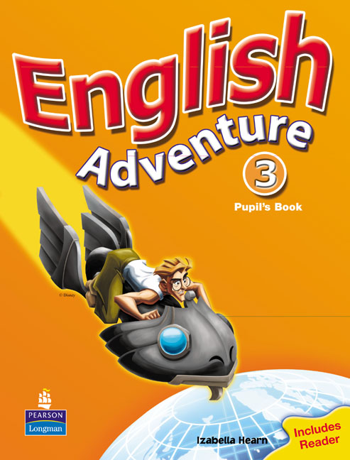 pearson education english adventure level 3 pupils book plus reader