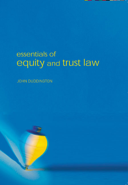 equity and trust law pdf