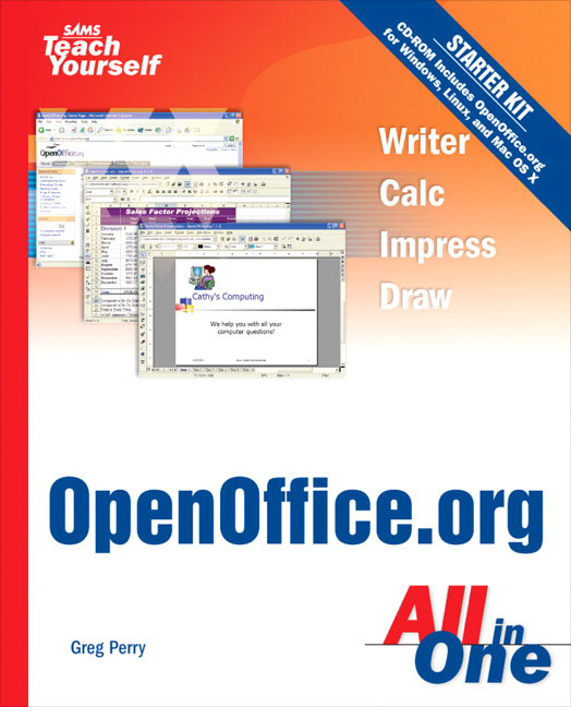 Pearson Education - Sams Teach Yourself OpenOffice org All