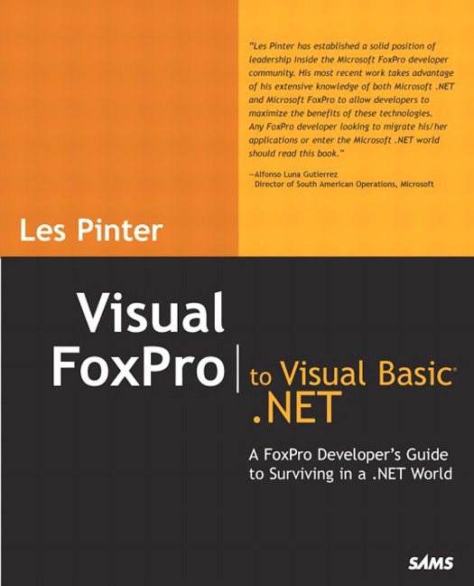 Pearson Education - Visual FoxPro to Visual Basic .NET