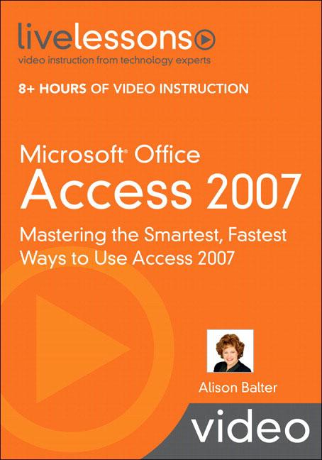 Access 2007 advanced exercises