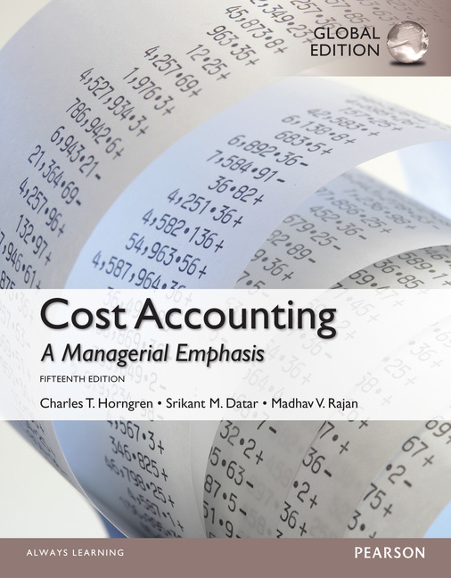 [PDF] Cost Accounting A Managerial Emphasis 14th Edition ...