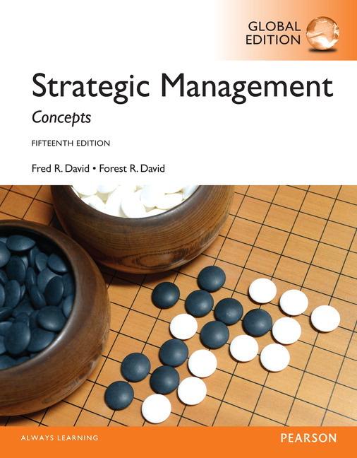 Pearson Education Strategic Management A Competitive Advantage