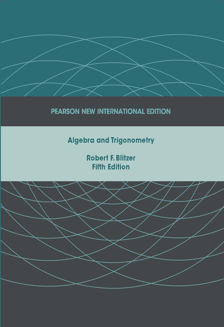 Pearson education algebra and trigonometry pearson new algebra and trigonometry pearson new international edition fandeluxe Choice Image