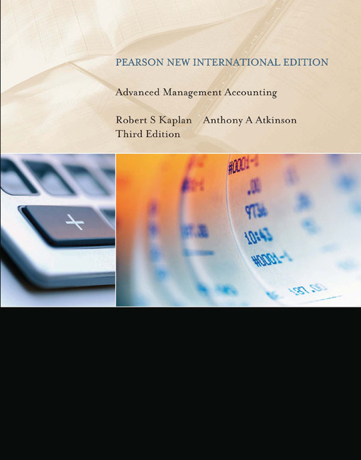 Pearson education advanced management accounting pearson new advanced management accounting pearson new international edition fandeluxe Gallery