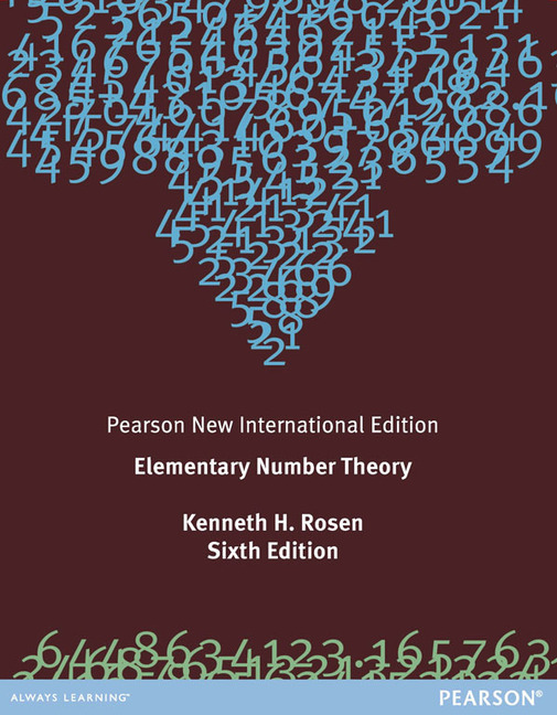 pearson education elementary number theory pearson new rh pearsoned co uk Elementary Number Theory 7th Edition Elementary Number Theory Vanden Eynden