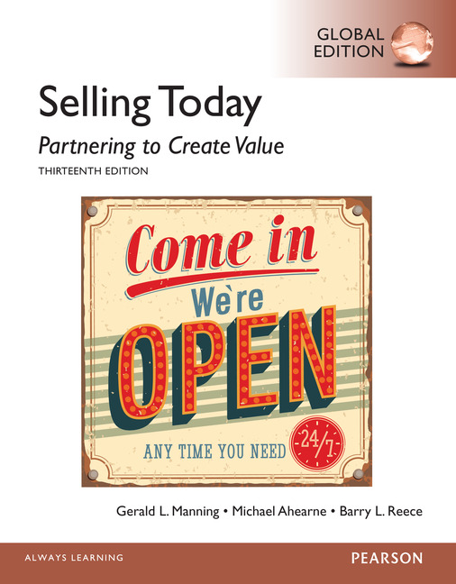 Pearson education selling today partnering to create value selling today partnering to create value global edition fandeluxe Images
