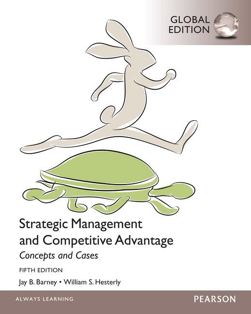 Pearson Education Strategic Management And Competitive Advantage